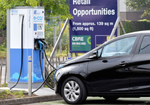 Electric charing point grant could be announced by the government