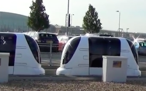 Shuttle pods to be transformed into driverless vehicles