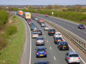 Drivers delayed 15 minutes every 100 miles in 2015
