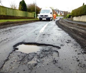 Pothole problem in the UK would require 14-years  to fix