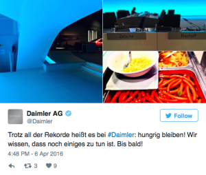 Daimler shareholders get serious about sausages