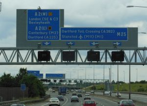Smart motorways in the UK catching motorists out