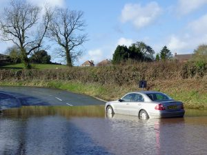 Older drivers the ones most likely to drive through flood water