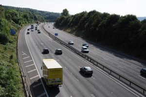 Nearly one third of motorists admit to still 'hogging'  the middle lane of the motorway