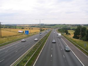 According to the RAC, major roads will be the least busy since 2011