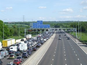 M25 is the slowest motorway in the UK