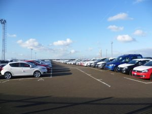 After a record breaking March, car sales in April fall by almost 20%