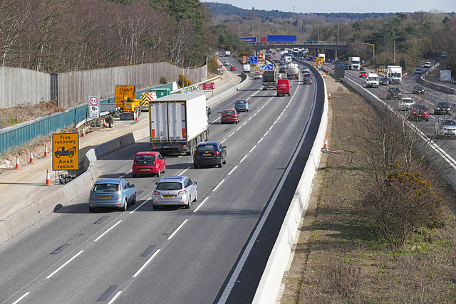 RAC warns that scrapping the hard shoulder on busy sections of smart motorway could be dangerous