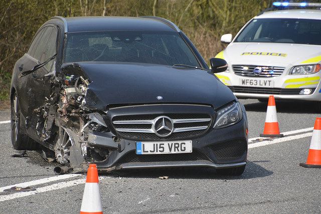 A new study reveals how millions of accidents occur in the UK because drivers take their eyes off the road