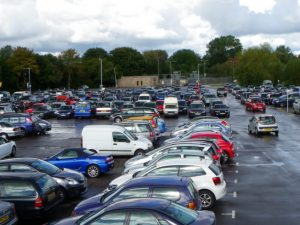Searching for a car park space could become a thing of the past