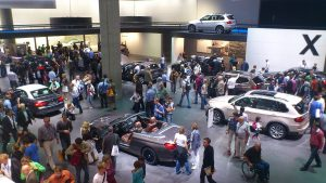 A host of new car reveals are expected at the event open to the public on September 14