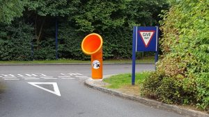 Highways England hope the new bins will reduce the amount of rubbish on UK roads