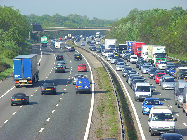 Around 3,700 jams occur on the UK's motorways and 'A' roads each day