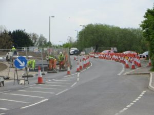 Highways England is asking for motorists to show more respect to road workers