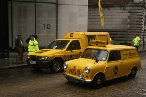 They've been the same yellow for over 100 years, surely they're not changing their identity now!