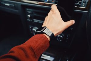 Using a smart watch whilst driving could see you fined and issued with penalty points