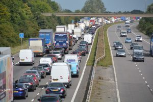 There's more cars, van and lorries on the road than ever before!