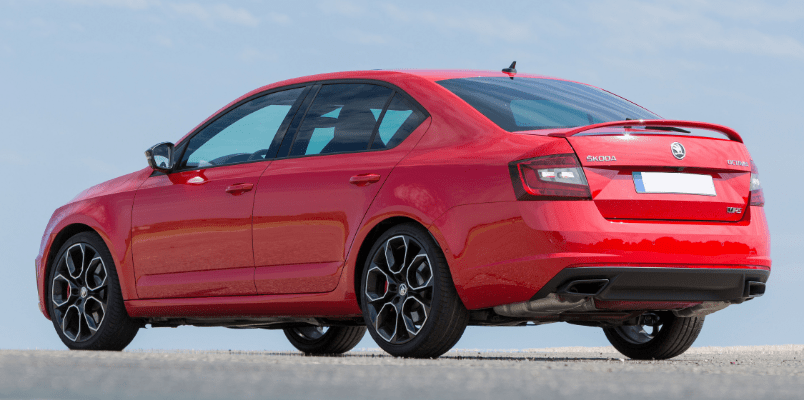 Skoda Octavia VRS Hatch Rear