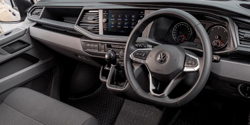 Volkswagen Transporter Steering Wheel & Dashboard