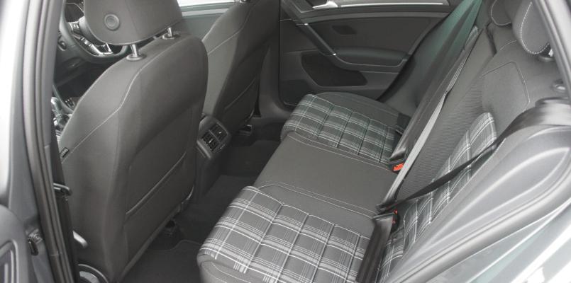 Volkswagen GTD Rear Interior
