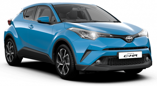 Toyota CHR Short Term Lease
