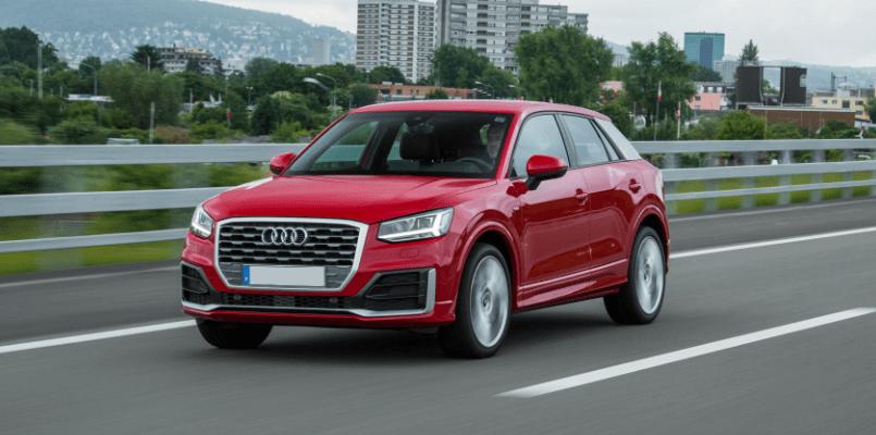 Audi Q2 Outside