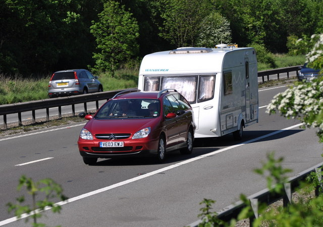 Motorists Beware: If you passed your driving test after 1997 you could face a fine when towing a caravan!