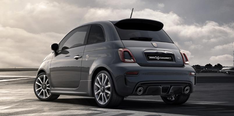 Fiat Abarth 595 Rear