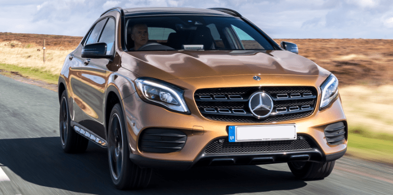 Mercedes GLA Lease Offer