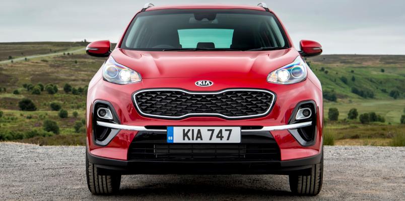 Kia Sportage Front