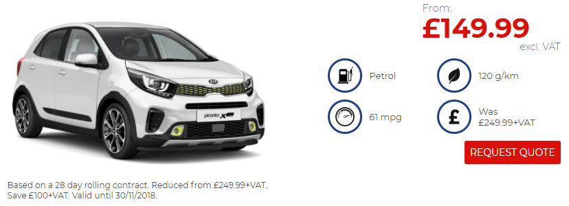Kia Picanto X Line Black Friday Offer