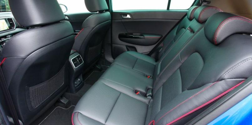 Rear Seats - Kia Sportage GT Line S-min
