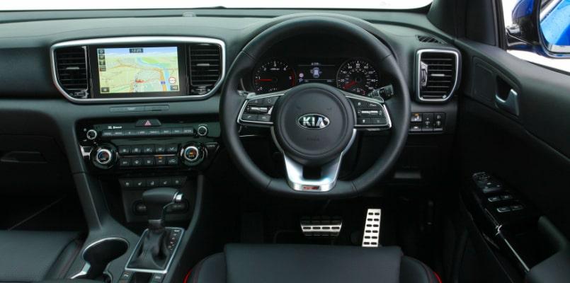 Steering Wheel - Kia Sportage GT Line S-min