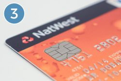 Picture of a bank card