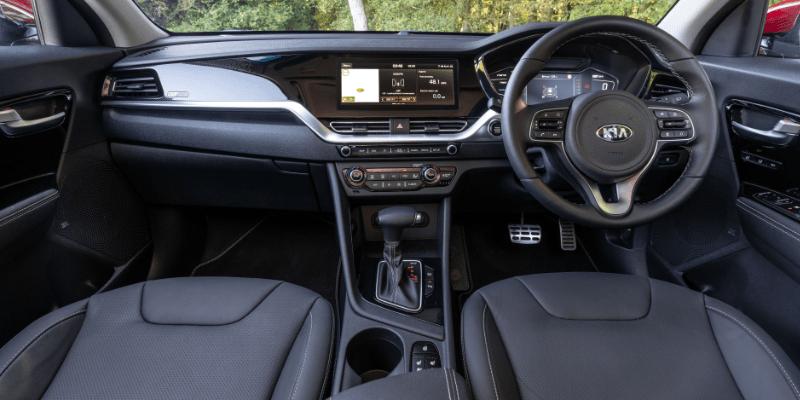 Kia Niro Hybrid Front Interior
