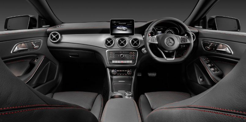 Mercedes CLA AMG Line Night Edition Interior View