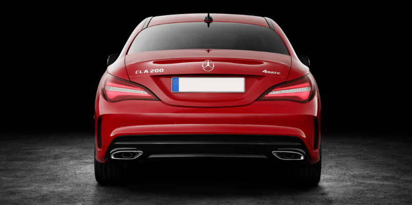 Mercedes CLA AMG Line Night Edition Rear View