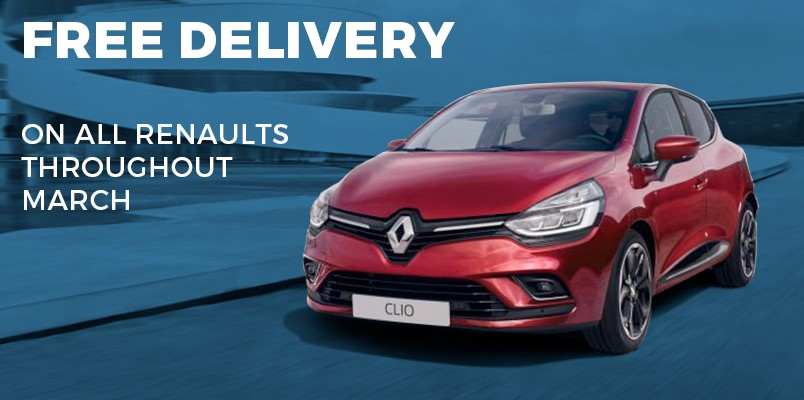 Renault Free Delivery