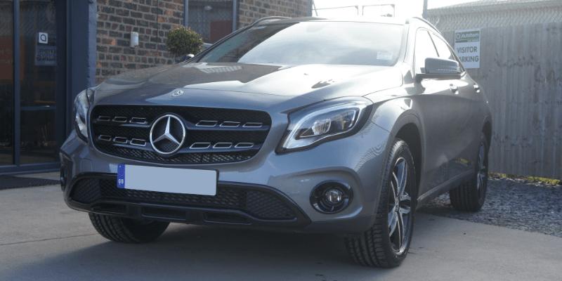 Mercedes-Benz GLA Front