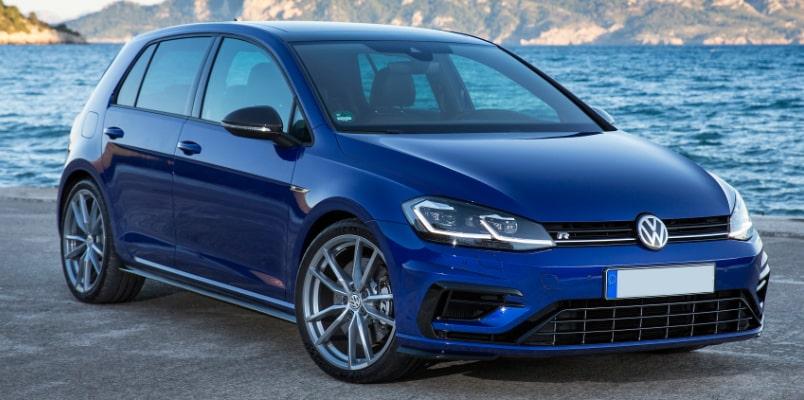 Volkswagen Golf R Front