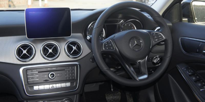 Mercedes GLA Urban Edition Interior