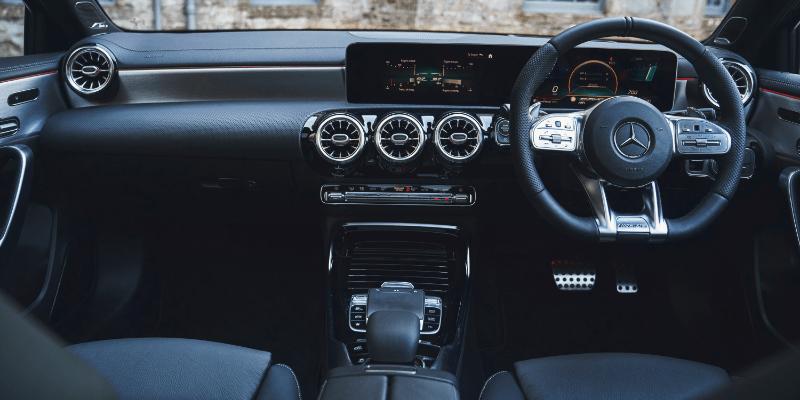 Mercedes-Benz A35 Interior