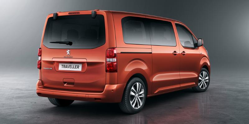 Peugeot Traveller Rear