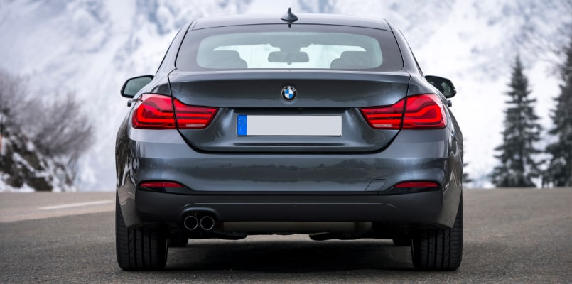 BMW 4 Series Gran Coupe Rear