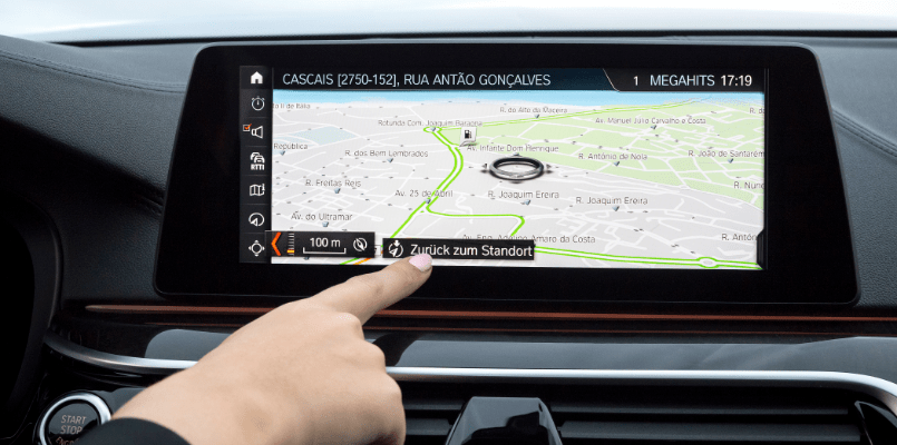 BMW Infotainment Screen
