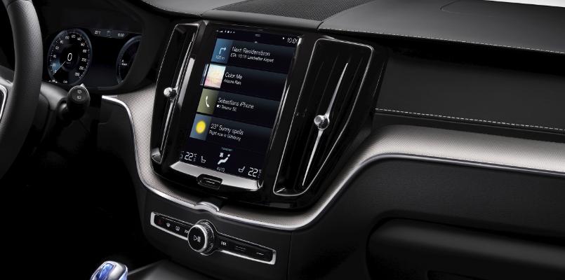 Volvo XC60 Infotainment Screen
