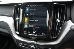 Volvo XC60 Infotainment Screen