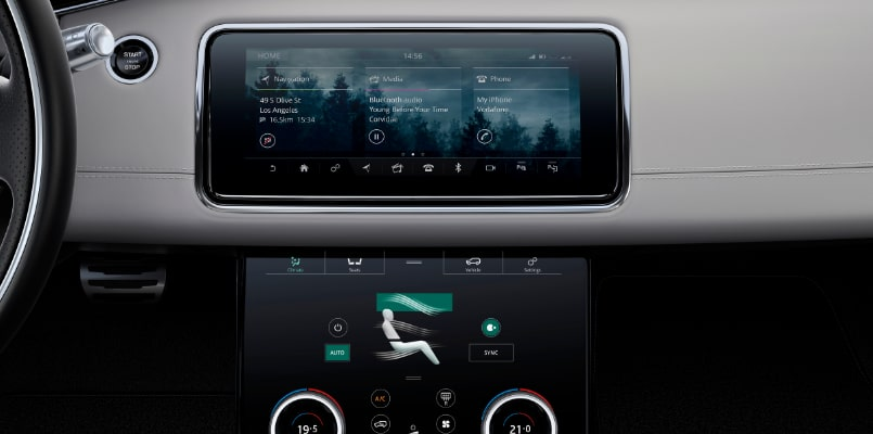 Flexed - Range Rover Evoque - Infotainment-min