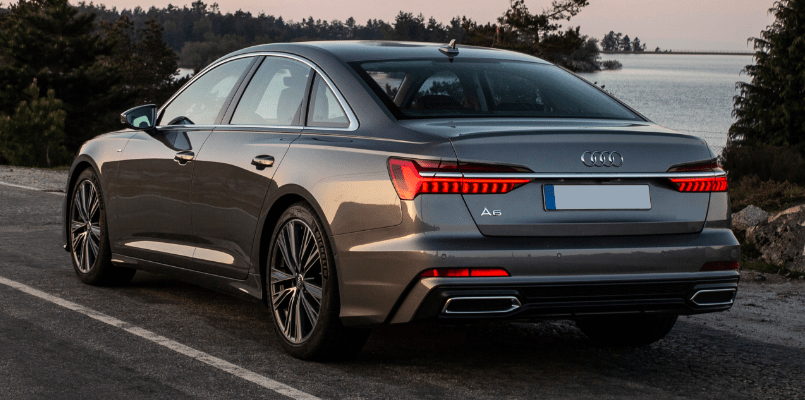 Audi A6 Saloon Rear