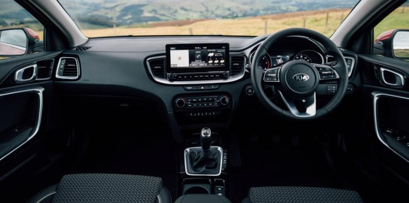 Kia XCeed Front Interior